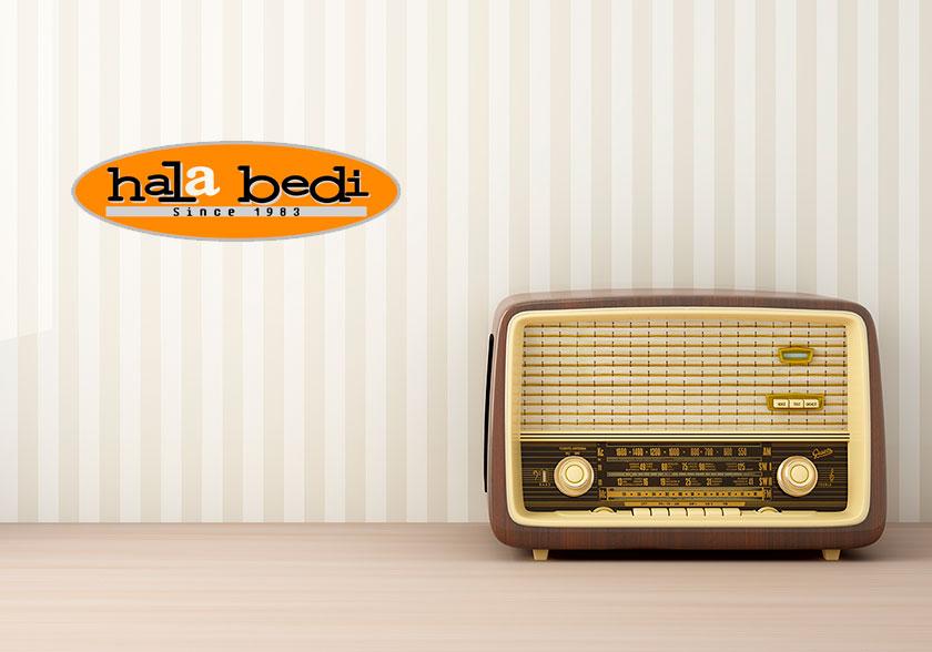 Entrevista de radio Hala Bedi