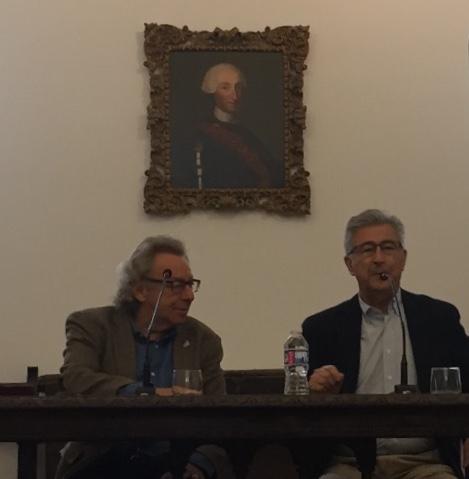 Presentación de la conferencia de Julio Quesada